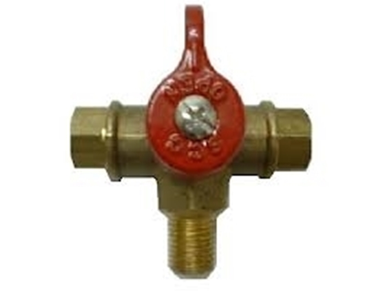 "Picture of Changeover valve 5/16"" Inv Flare - 1/4"""